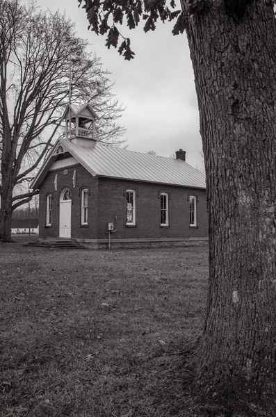 Dec. 2014 B&W pictures of an Old Whiteford Township...
