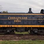 Toledo, Lake Erie & Westerm #5109 in fresh C&O Paint