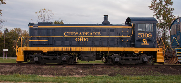 Toledo, Lake Erie & Westerm #5109 in fresh C&O Paint by...