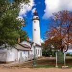 Port Sanilac, Point Aux Barques, Au Sable Point and Old Mission Peninsula Lighthouses