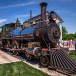 Henry Ford's #7 Steam Locomotive @ Green Field Village in Dearborn, Michigan