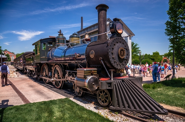 Henry Ford's #7 Steam Locomotive @ Green Field Village...