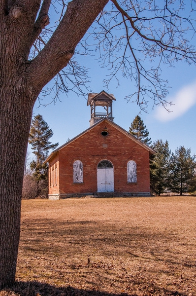 Old Whiteford Twp. School House March 2015 by...