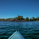 2013 Marquette Harbor Light (on-water) reworked 2015