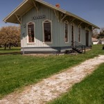 Maumee Railroad Depot @ Walcott Museum in Maumee, Ohio - May 2015