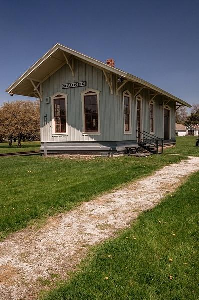 Maumee Railroad Depot @ Walcott Museum in Maumee, Ohio -...