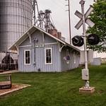 Sheperd Railroad Depot & Museum in Sheperd, Michigan