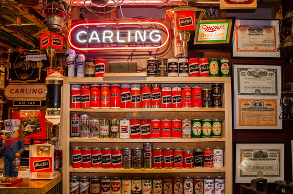 Carling Black Label Beer Can Collection by SDNowakowski