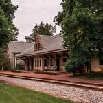 Jonesville Railroad Depot in June 2015