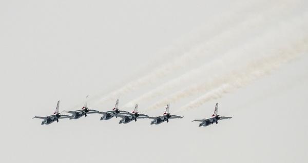USAF Thunderbirds @ the Traverse City Cherry Festival...