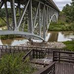 M-55 Bridge over the Pine River in Wellston, Michigan