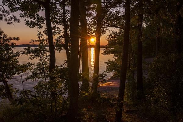 Sunset on Green Lake by SDNowakowski
