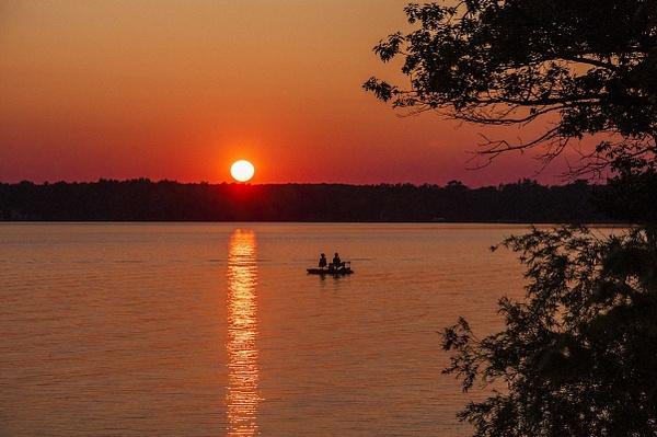 Sunset on Green Lake