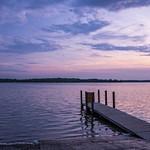 Sunrise & Sunset on Duck & Green Lakes from Interlochen State Park
