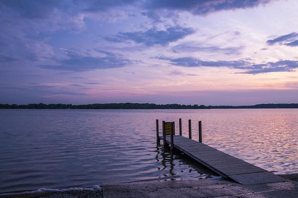Sunrise & Sunset on Duck & Green Lakes from Interlochen...