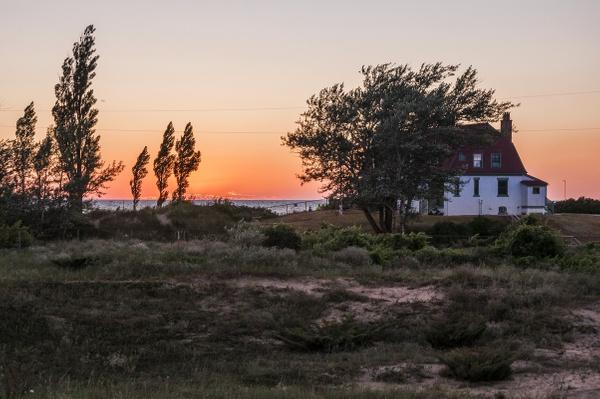 2015 Sunset @ Point Betsie Lighthouse from Lightroom by...