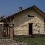 2015 Amasa Railroad Depot in Amasa, Michichigan in the Upper Peninsula