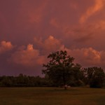 2015 Labor Day Weekend Storms over Brighton State Recreation Area in Brighton, Michigan