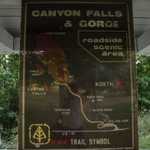 2015 Canyon Falls Rest Area in the Upper Peninsula of Michigan