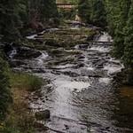 2015 L'Anse Falls in L'Anse, Michigan in the Upper Peninsula