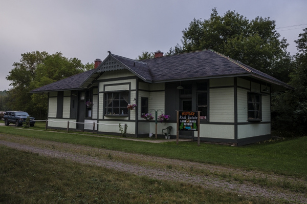 2015 Wolverine Railroad Depot in Wolverine, Michigan by...