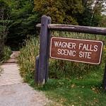 Wagner Falls south of Munising, Mi. in the Upper Peninsula of Michigan in Sept 2015