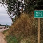 Alger Falls south of Munising, MI in the Upper Peninsula of Michigan in Sept 2015