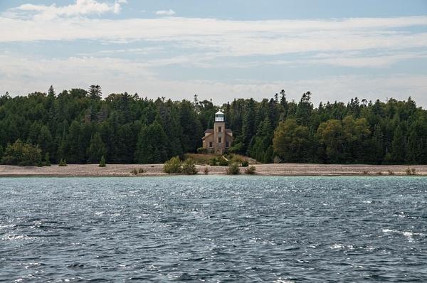 2015 Bois Blanc Island Lighthouse by SDNowakowski