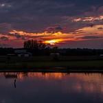 2015 Sunset @ Manton Campground in Manton, Michigan
