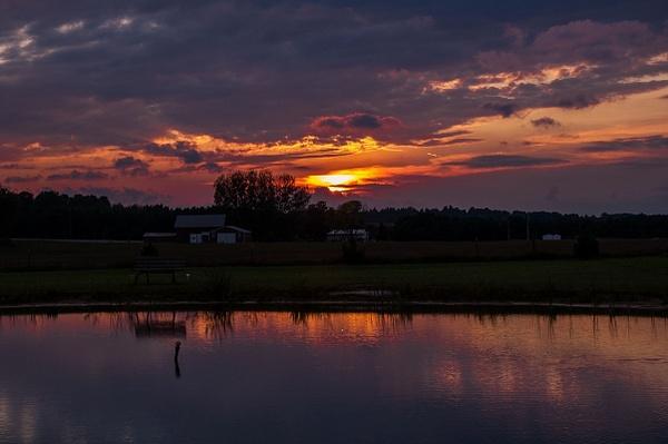 2015 Sunset @ Manton Campground in Manton, Michigan by...