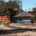 2015 Marquette Rail RR Depot & Yard in Baldwin, Michigan