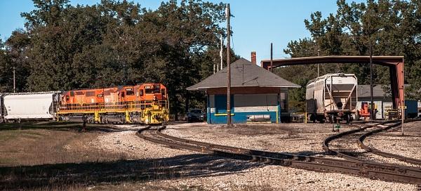 2015 Marquette Rail RR Depot & Yard in Baldwin, Michigan...