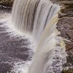 2015 Upper Tahquamenon Falls inside Tahquamenon Falls State Park in Late September