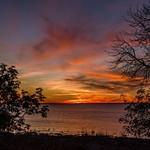 2015 Sunset @ Peninsula Point Light Oct