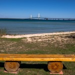 2015 Mackinaw City in Northern Michigan in October