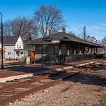 2015 St. Louis, Michigan Railroad Depot in early Nov.