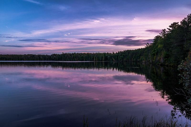 Sunset @ Culhane Lake