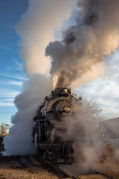 #1225 Steam Locomotive