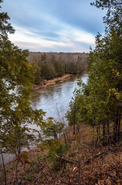 2015 Manistee River @ US-131 & 19 Road Dec. by...