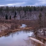 2015 Light Snow on the Pine & Manistee Rivers in Northern Michigan