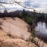 2015 Manistee River @ County Line Road south of Fife Lake, Michigan.