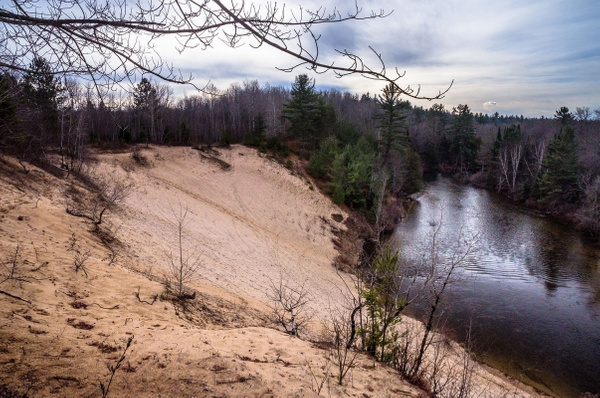 2015 Manistee River @ County Line Road south of Fife...