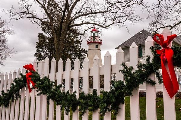 2015 Marblehead Lighthouse in December by SDNowakowski