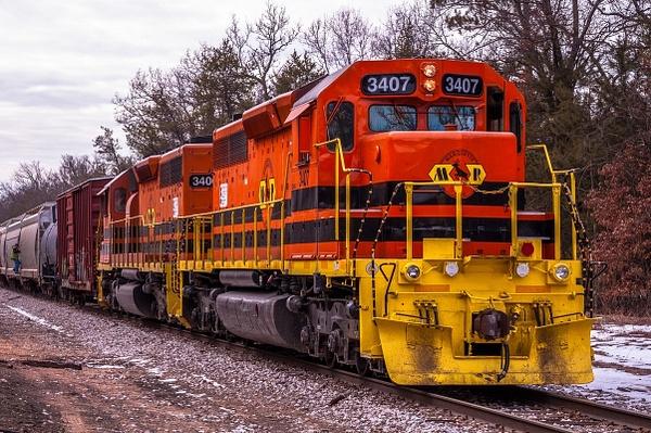2016 Marquette Rail Locomotives Feb by SDNowakowski