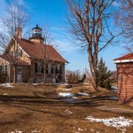 2016 Spring Thaw @ White River Light Station - March