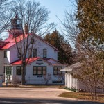 2016 Grand Traverse Lighthouse Museum in March