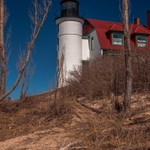 2016 Point Betsie Lighthouse in mid March