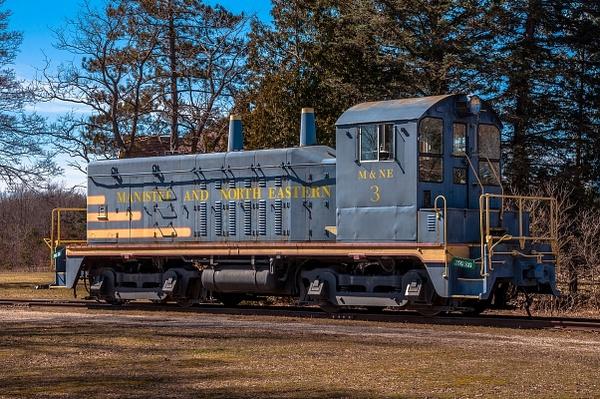 2016 Kaleva Railroad, Locomotive & Museum in mid March...