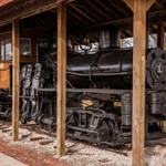 2016 Soo Lumber Co. #1 Shay Locomotive in Cadillac, Michigan