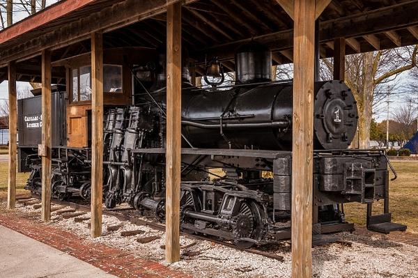 2016 Soo Lumber Co. #1 Shay Locomotive in Cadillac,...